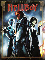 Hellboy - Director's Cut DVD arvostelu kansi