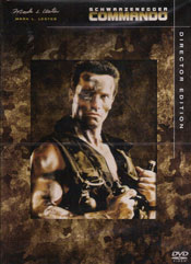 Commando – Director Edition DVD arvostelu kansi