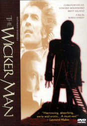 The Wicker Man DVD arvostelu kansi