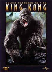King Kong - Deluxe Extended Edition DVD arvostelu kansi