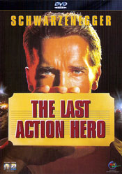 The Last Action Hero DVD arvostelu kansi