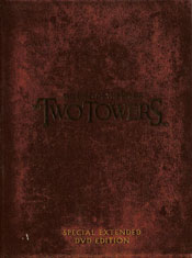 The Lord of the Rings: The Two Towers - Special Extended DVD Edition DVD arvostelu kansi