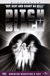Pitch Black – Unrated Director's Cut DVD arvostelu kansi